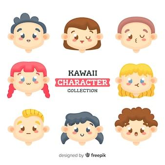 Süße kawaii-figuren
