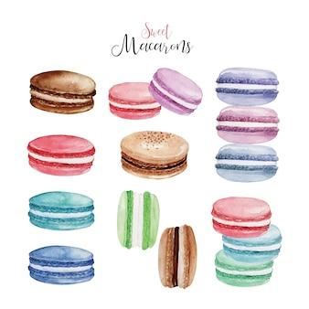 Süße macarons