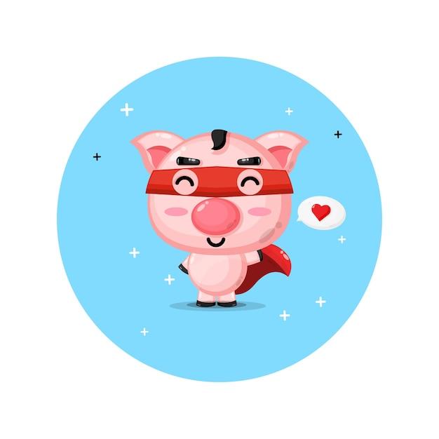 Süße schweine werden zu helden