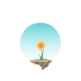 Süße sonnenblume
