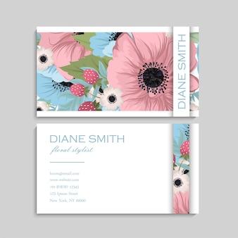 Süße visitenkarte