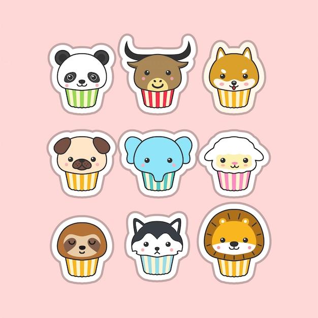 Süßer cupcake