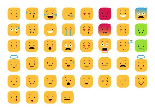 Süßer emoticon