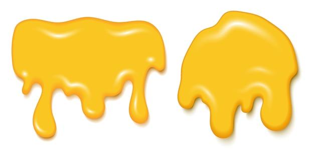 Süßer flüssiger honigsirup köstlich