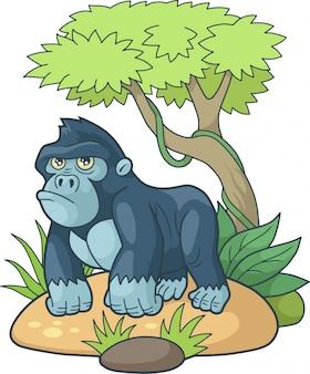 Süßer gorilla