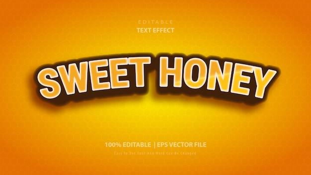 Süßer honig