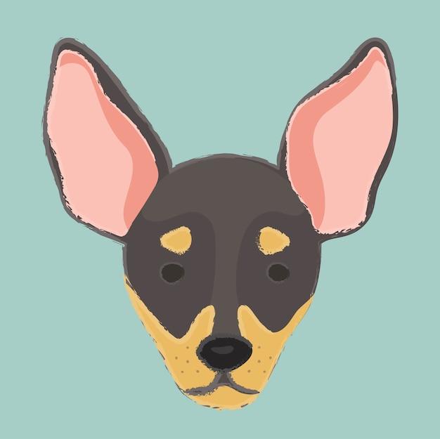 Süßer hund bester freund kuscheliger hundeliebhaber begleiter