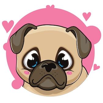 Süßer mops avatar