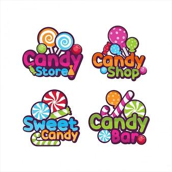 Süßer süßwarenladenentwurf