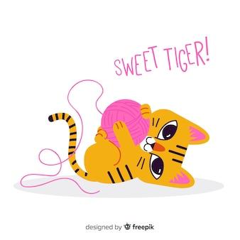 Süßer tiger