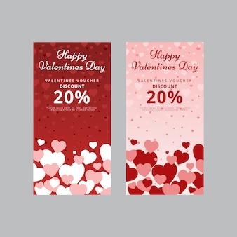 Süßer valentinstag gutschein
