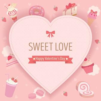 Süßer valentinstag
