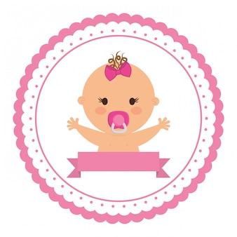 Süßes baby-symbol