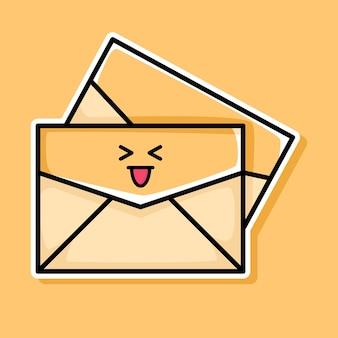 Süßes e-mail-cartoon-design