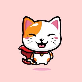 Süßes katzenmaskottchen