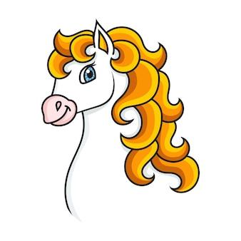 Süßes pferd nutztier