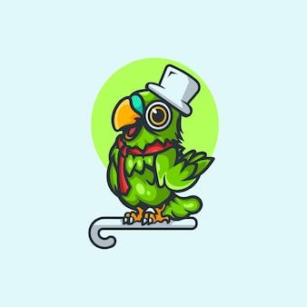 Süßes sittich-logo