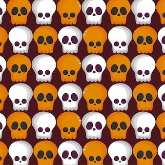 Süßes sonst gibt's saures muster für glückliches halloween