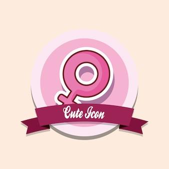 Süßes symbol emblem