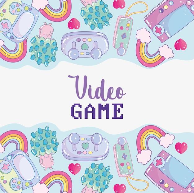 Süßes videospiel