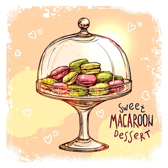 Süßigkeit jar sketch