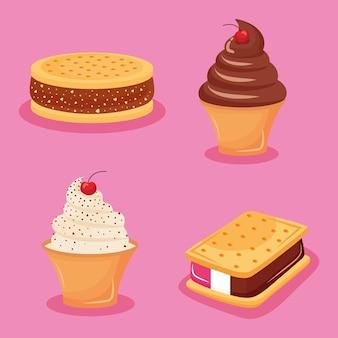 Süßigkeiten für gefrorene süßwaren