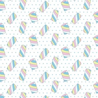 Süßigkeiten muster design