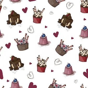 Süßigkeiten muster