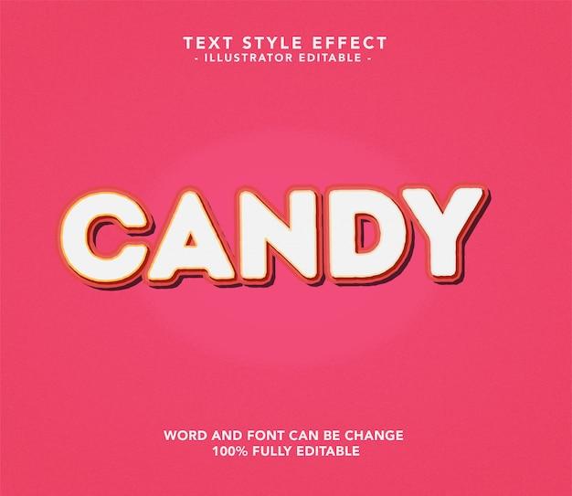 Süßigkeiten schriftart