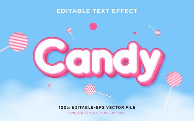 Süßigkeiten-text-effekt