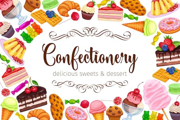 Süßwaren und süßigkeiten