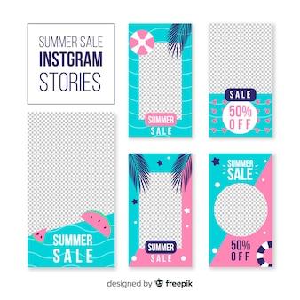 Summer sale instagram geschichten vorlagen