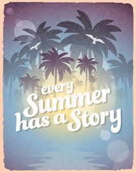 Summer vibes hintergrund