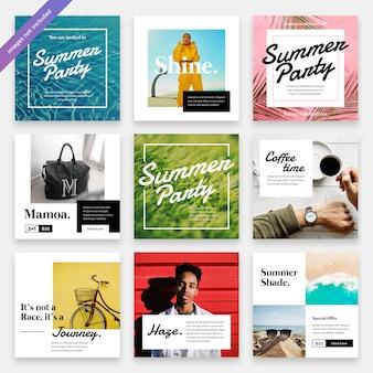 Summerbreeze social media instagram vorlage