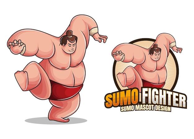 Sumo fighter charakter design