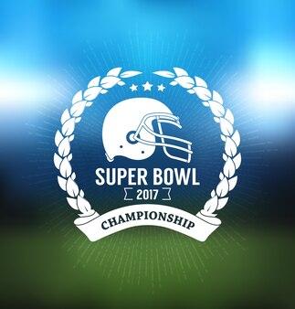 Super bowl meisterschaft logo sport
