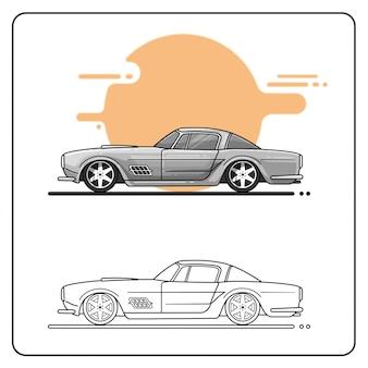 Super muscle car