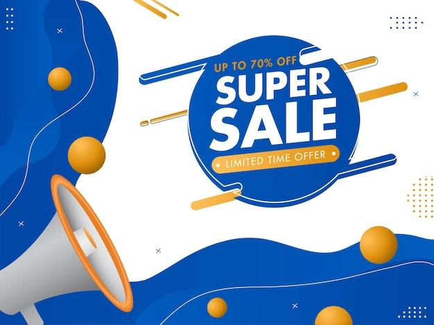Super sale concept square vorlage