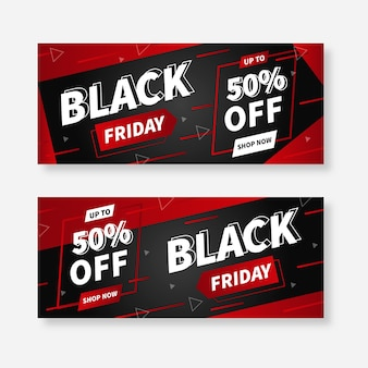 Super sales black friday banner vorlage