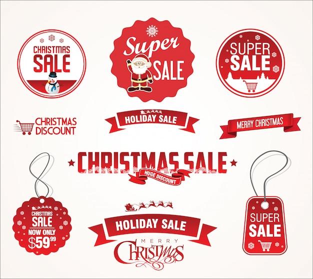Super weihnachtsverkauf abzeichen
