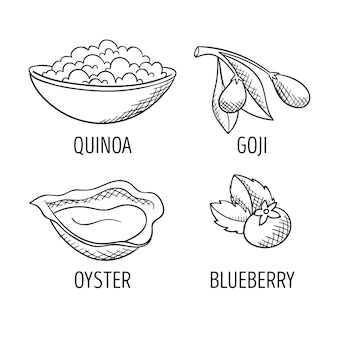 Superfood-sammlung