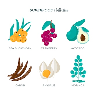 Superfood-sammlung