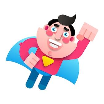 Superheld charakter, super vater