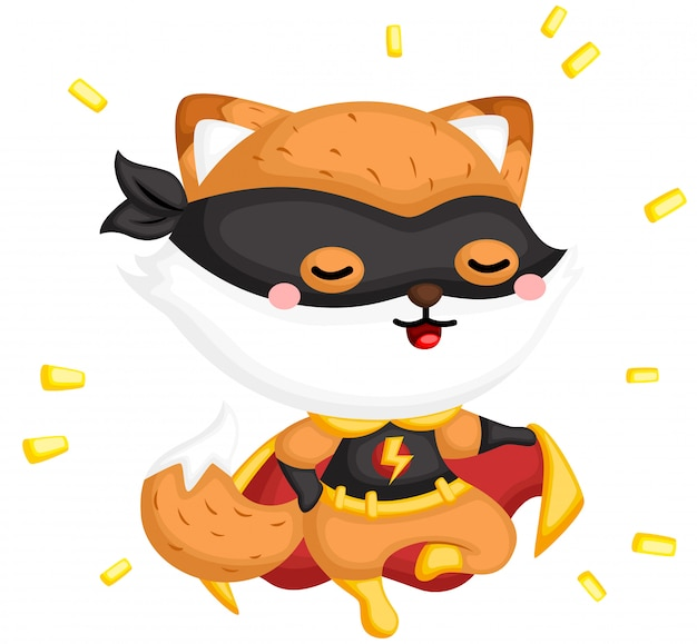 Superheld fox