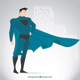 Superheld zeichen