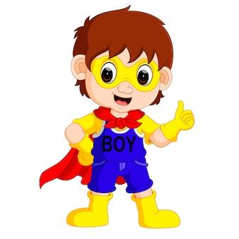 Superhelden-boy-cartoon