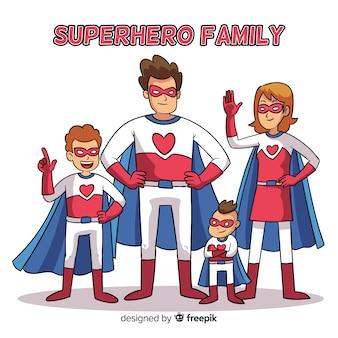 Superhelden-familie