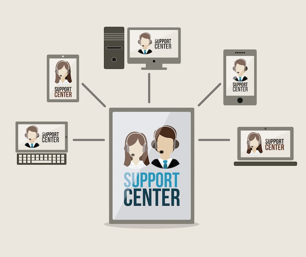 Support-center-design
