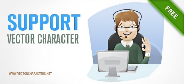 Support-vektor-charakter