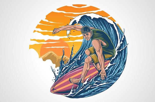 Surf-illustration